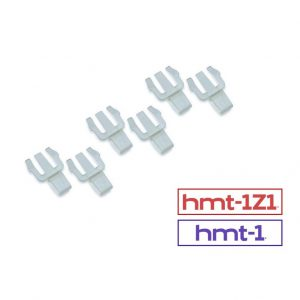 hard hat clips 3 pair pack