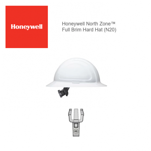 Hard Hat Clips - Honeywell North Zone Full Brim (3 Pair Pack)